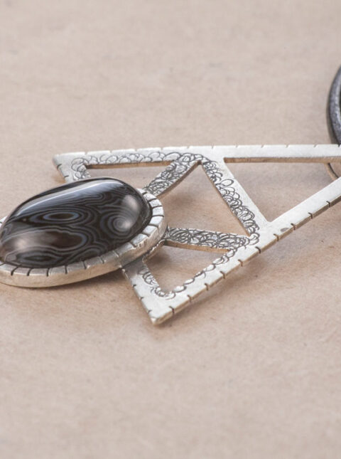 alkimia agathe pendant sterling silver