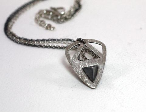 Pyramid pick pendant mikela jewelry pyramid pick pendant aloadofball Choice Image