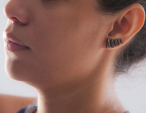 vintage silver earrings 1