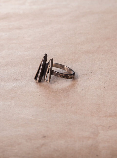 vintage silver ring 1