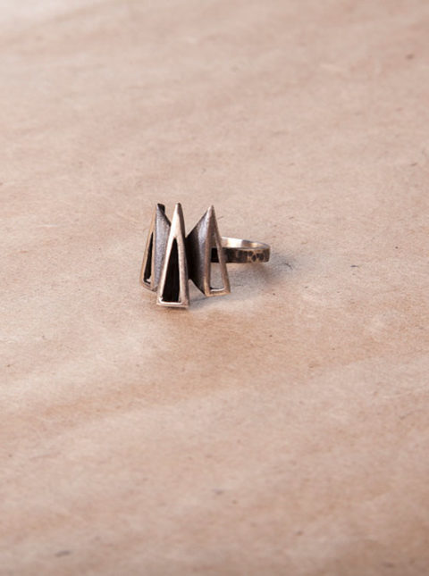 vintage silver ring 2